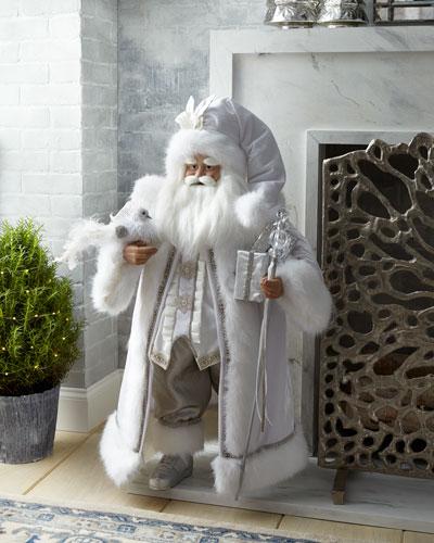 Silver and White Santa, 36