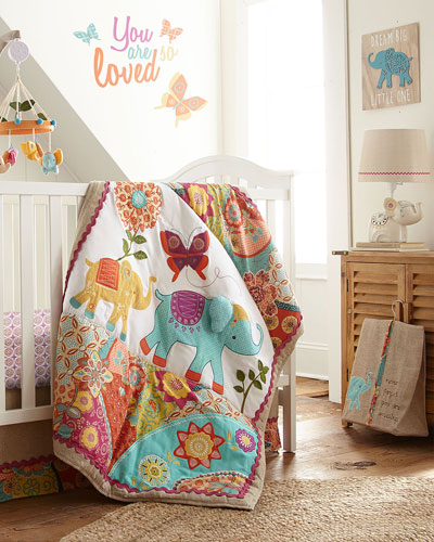 Zahara 5-Piece Crib Bedding Set