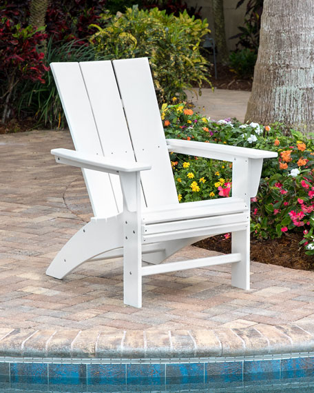 All Weather Modern Adirondack Chair
