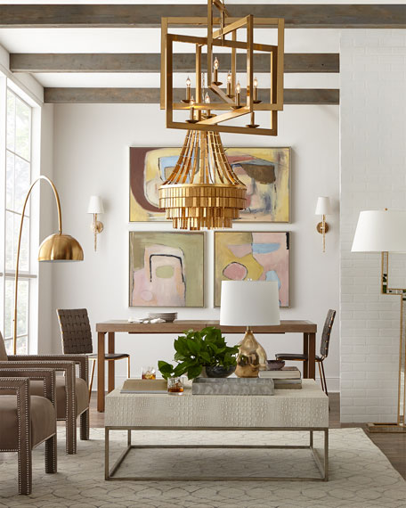 Holden Hammered Chandelier