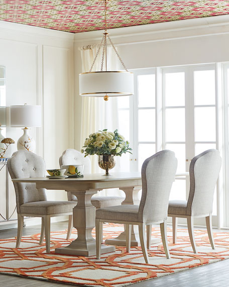 East Hampton Pedestal Dining Table