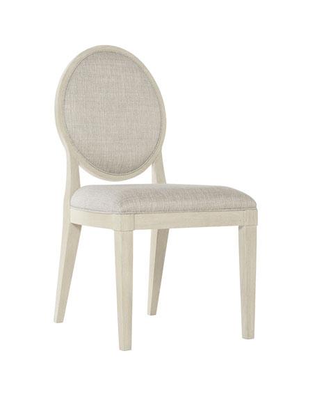 East Hampton Oval Back Side Chairs, Set of 2
