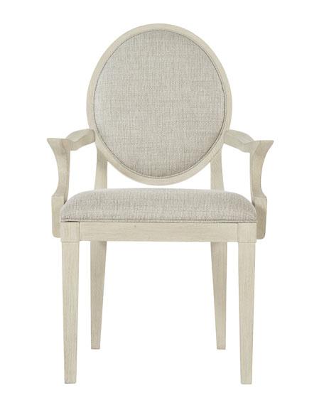 East Hampton Oval Back Arm Chair