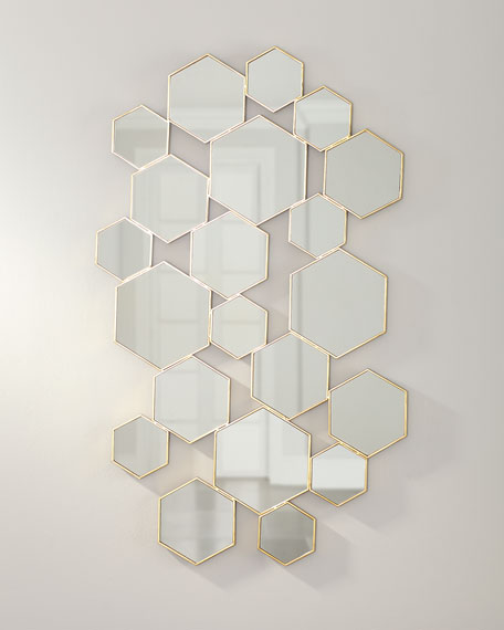 Hexagon Wall Decor