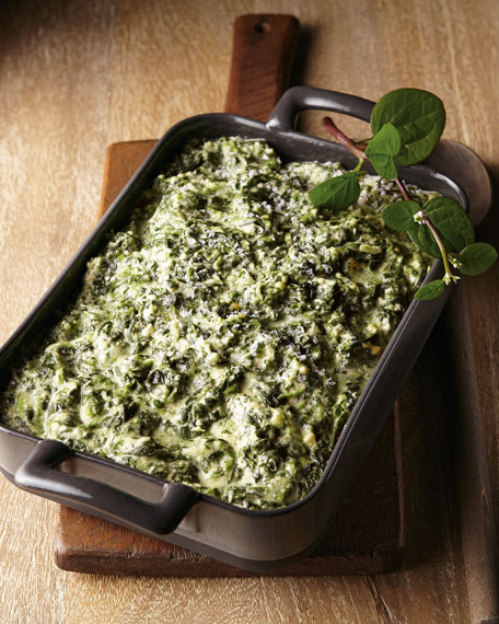 Smoked Gouda Creamed Spinach, For 6-8 People