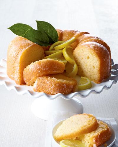 Lemon Bundt Cake  For 16-20 People