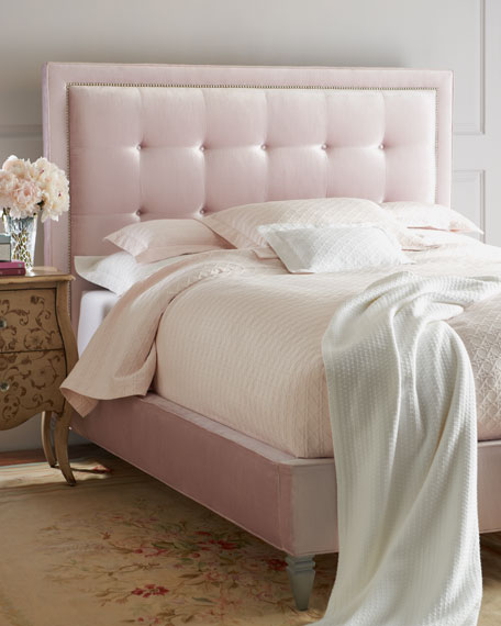 Callista King Tufted Bed