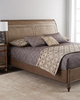 Lexann Sleigh Bed