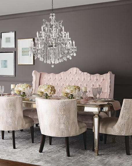 Isabella Blush Banquette