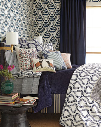 Green Comforters Amp Blue Duvet Covers At Neiman Marcus Horchow