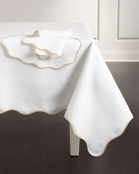 """Meira 68"""" x 90"""" Tablecloth"""