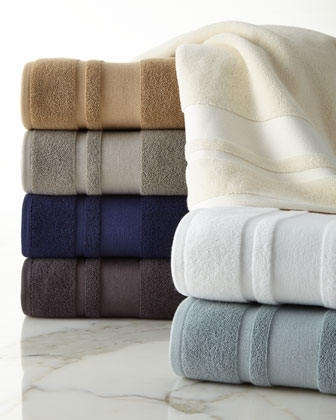Monogrammed Towels Solid Towel Sets At Horchow