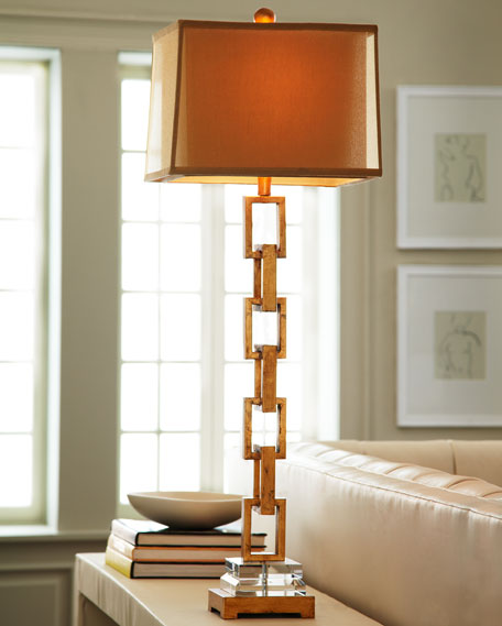 Chain link table lamp mozeypictures Gallery