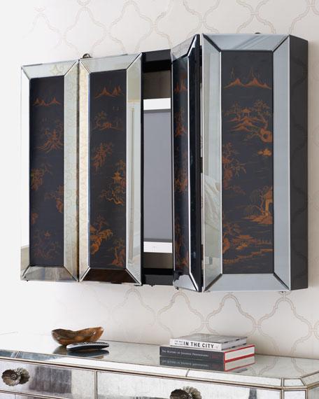 Chinoiserie Plasma TV Cabinet