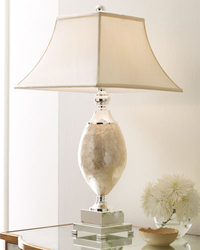 Rochelle mother of pearl lamp