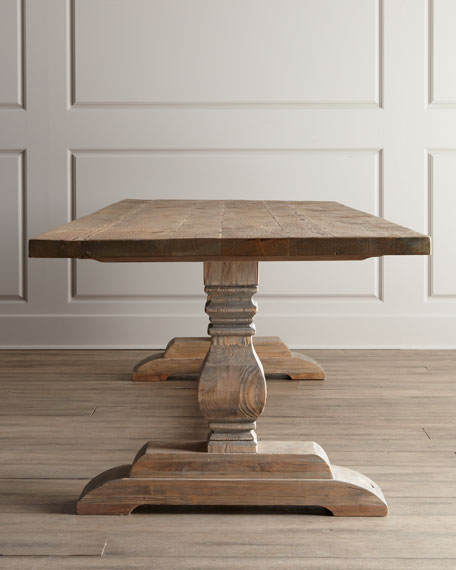 Monaco Trestle Dining Table