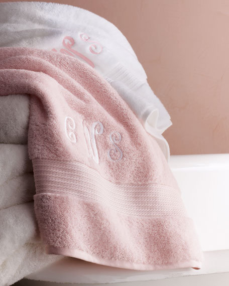 Greenwich Bath Towel, Monogrammed