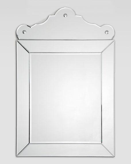 Mirror-Framed Pediment Mirror