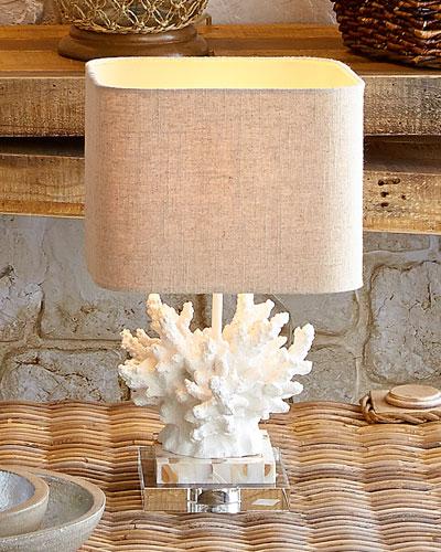 White Coral  Lamp