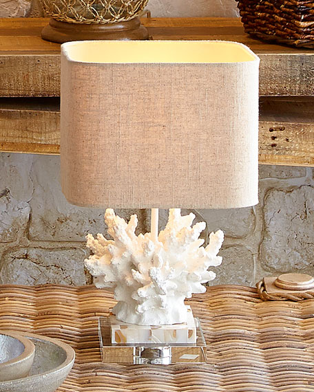 Couture Lamps White