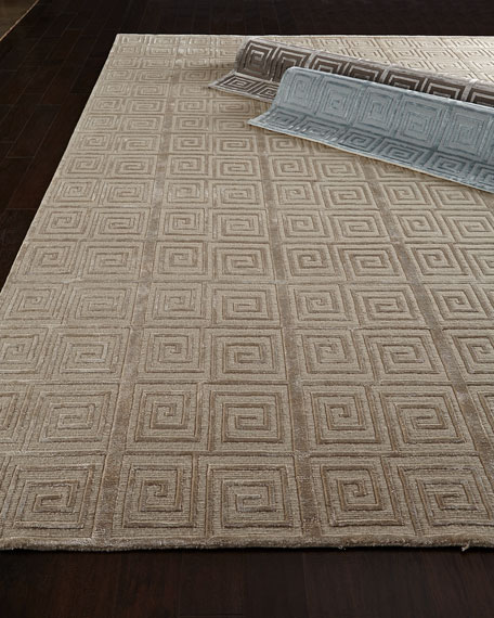 Diona Greek Key Rug, 6' x 9'