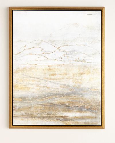 Golden Horizon Giclee on Canvas Wall Art