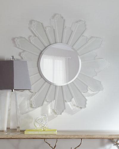 Sunburst Lucite Mirror
