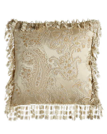 Montfort Reversible Ogee/Paisley Pillow, 20