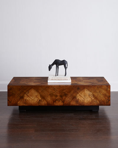 Tenzin Walnut Coffee Table