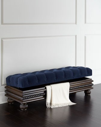Garrison 38 Storage Bench