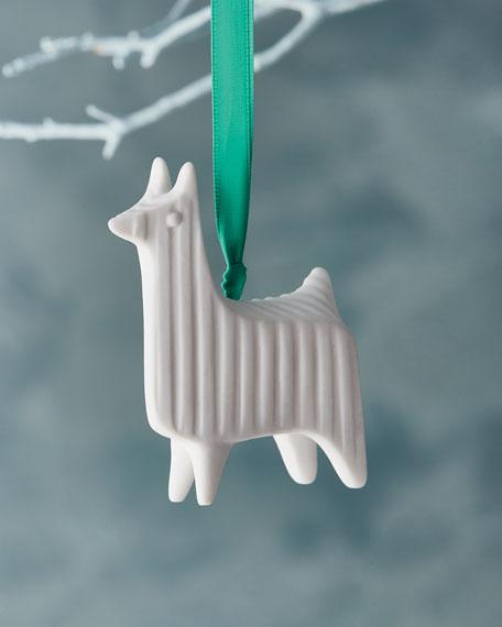 Llama Christmas Ornament