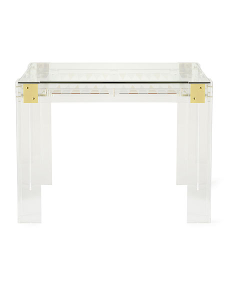Miranda Acrylic Backgammon Table