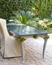 Cedar Wood Outdoor Dining Table