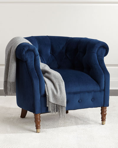 Navy Tub Chair