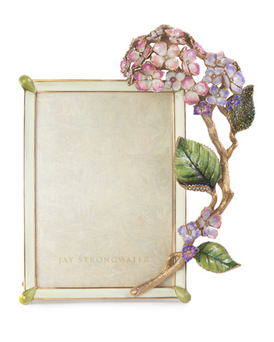 Gail Hydrangea Picture Frame  5 x 7