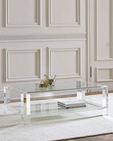 Landis Acrylic Coffee Table