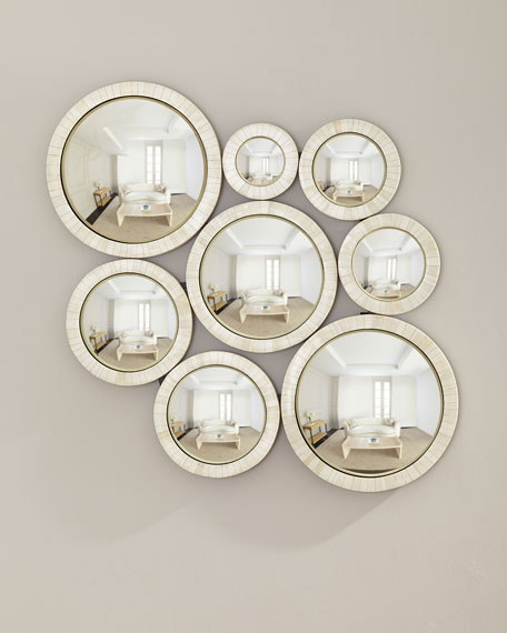Jamie Young Circles in Bone Mirror