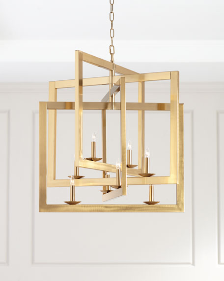 Squares Chandelier