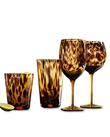 Tortoise Wine Goblets, Set of 4