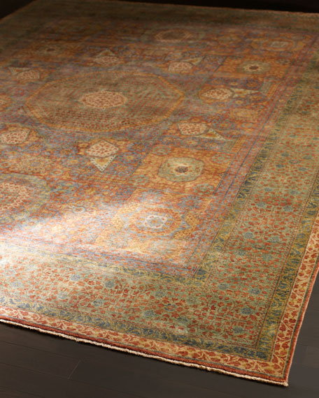 Gable Colors Rug, 6' x 9'