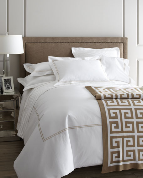 Queen 200TC Solid White Resort Fitted Sheet