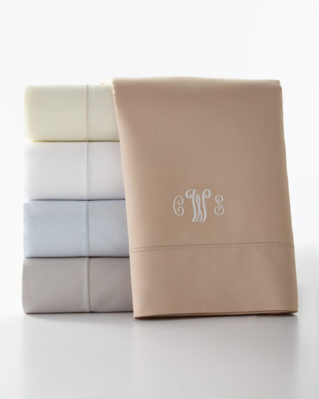 Two Standard Marcus Collection 400 Thread-Count Solid Pillowcases