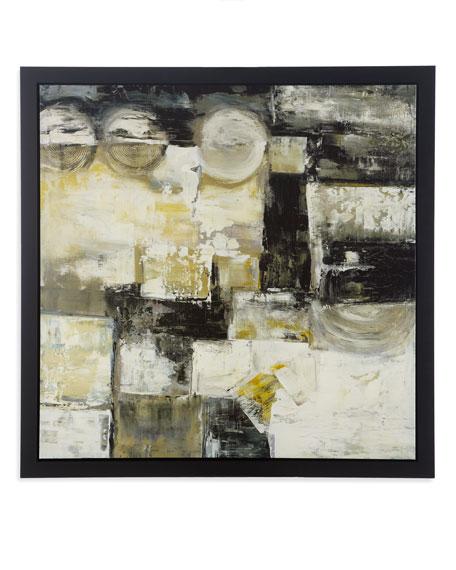 """Vex"" Abstract Print"