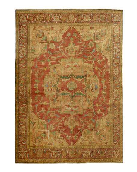 "Tribute Medallion Rug, 7'9"" x 9'9"""