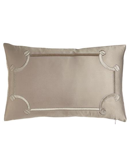 """Oblong Vendome Pillow, 14"""" x 22"""""""
