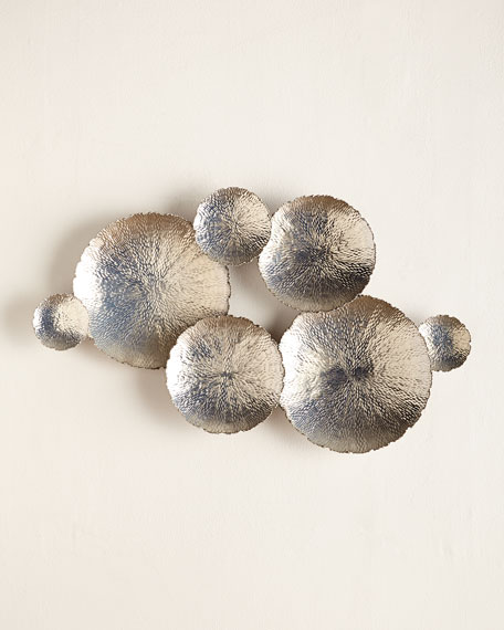 Ares Silver-Tone Wall Decor