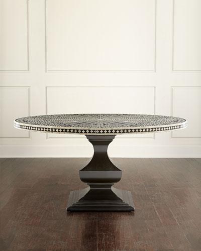 Vivian Inlay Dining Table