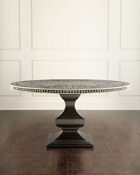 Bernhardt Vivian Inlay Dining Table