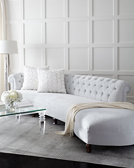 Haute House Evelyn Sectional Sofa 140