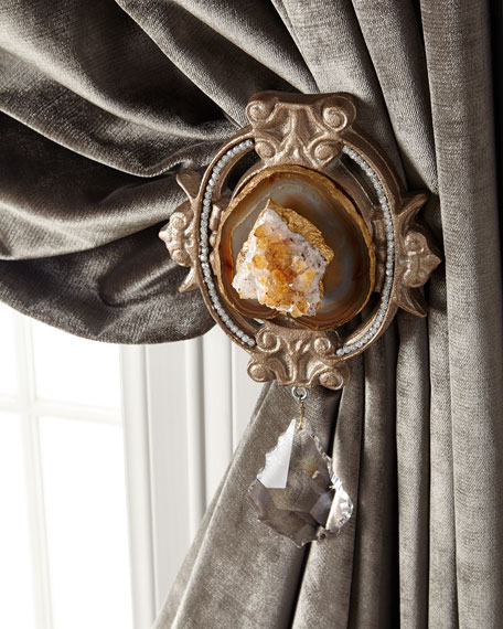 Each Paris Geode Curtain Tieback